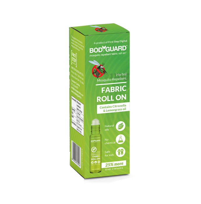 Bodyguard Herbal Mosquito Repellent Fabric Roll On Oil