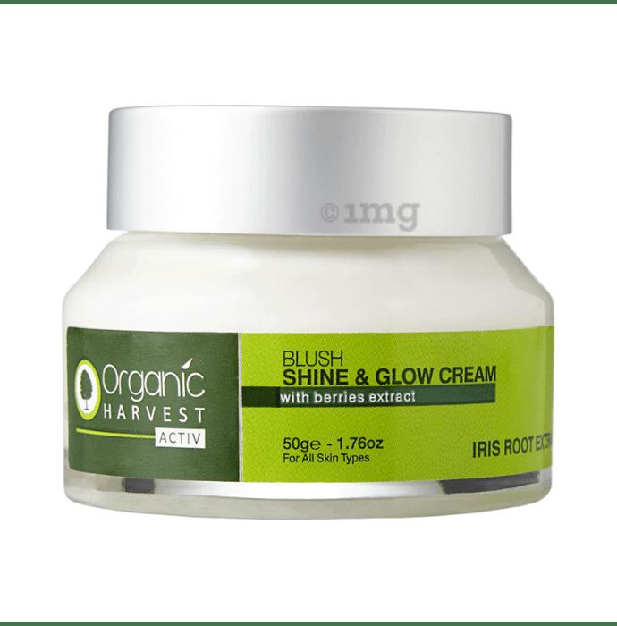 Organic Harvest Activ Irish Root Extract Range Shine & Glow Cream