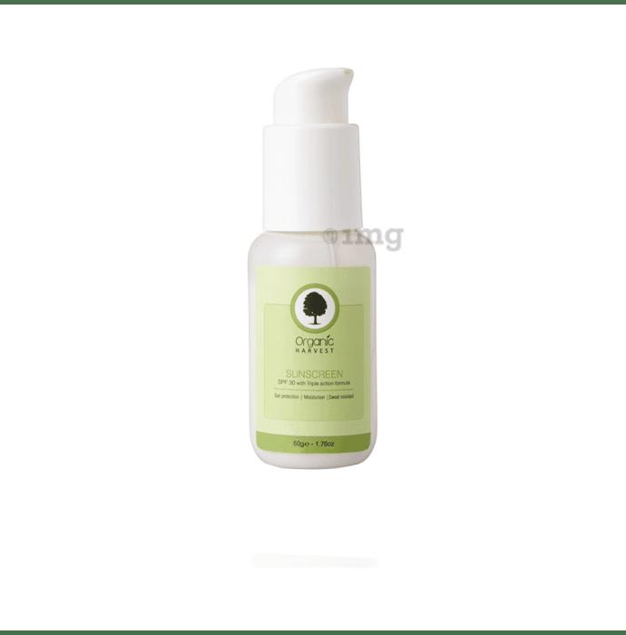 Organic Harvest Sunscreen SPF 30