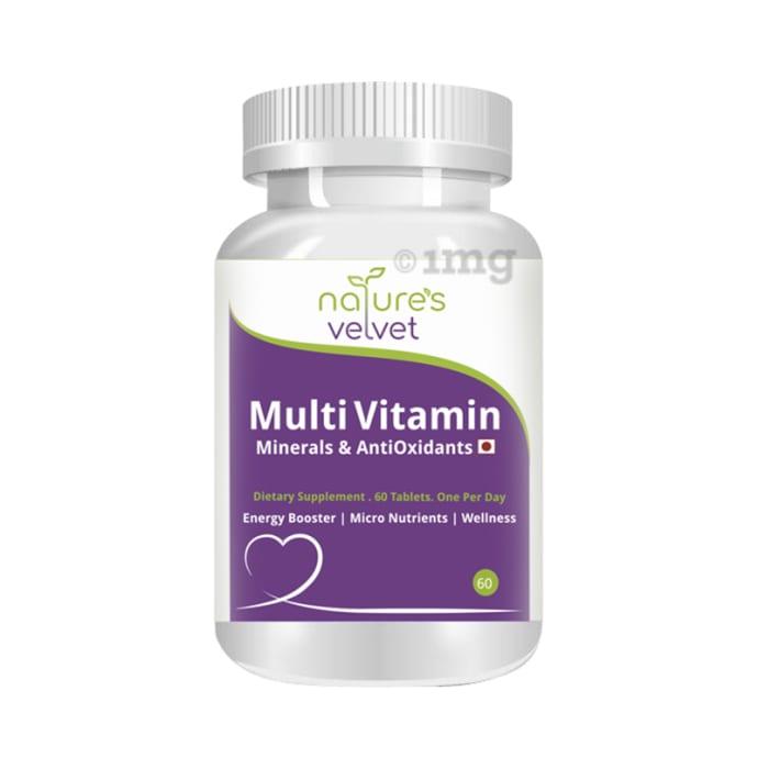 Nature's Velvet Multivitamin, Minerals and Antioxidants Tablet