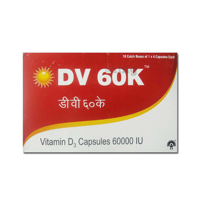 DV 60 K Soft Gelatin Capsule
