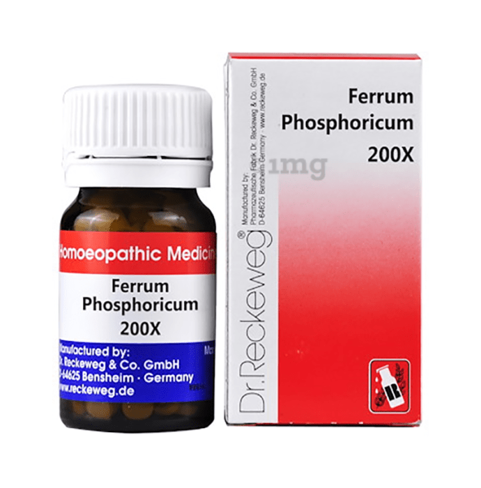 Dr. Reckeweg Ferrum Phosphoricum Biochemic Tablet 200X