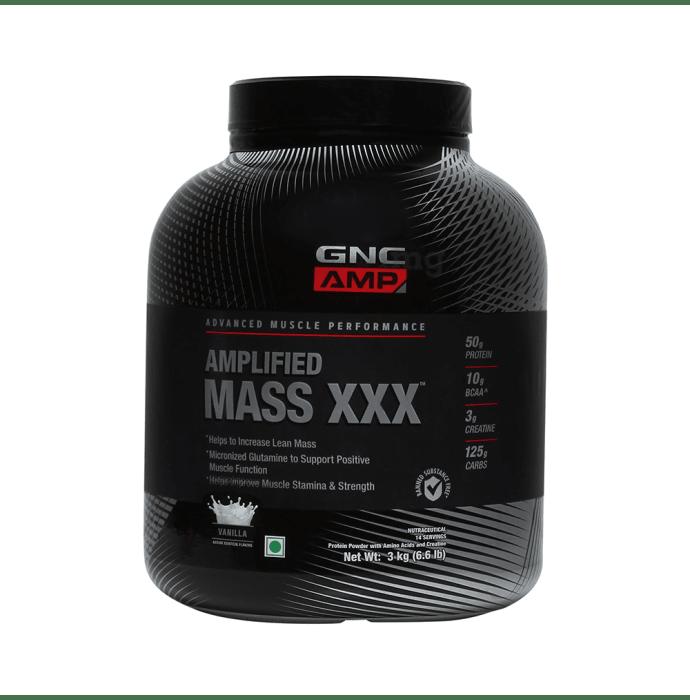 GNC Amplified Mass XXX Powder Vanilla