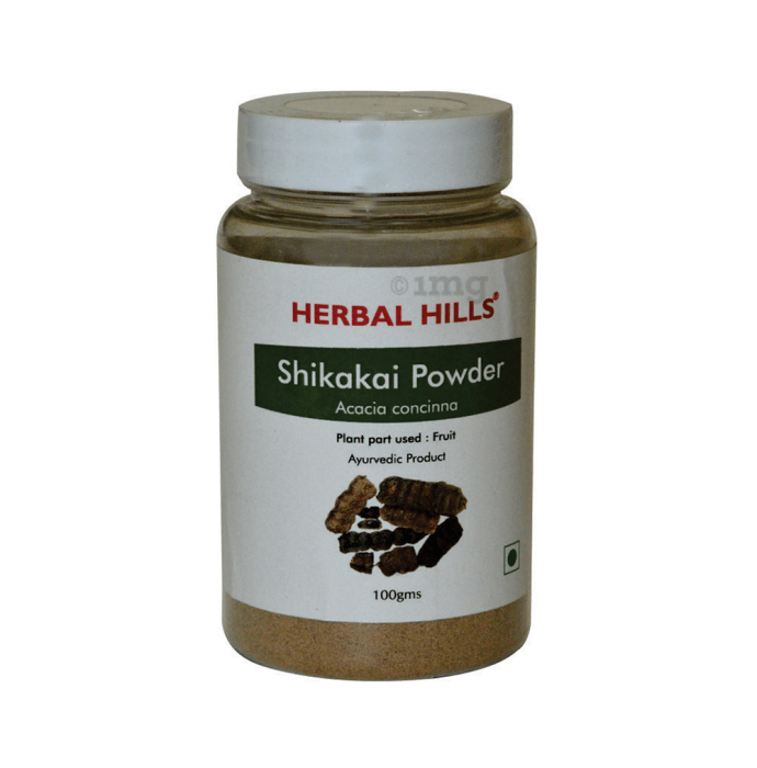 Herbal Hills Shikakai Powder Pack of 2