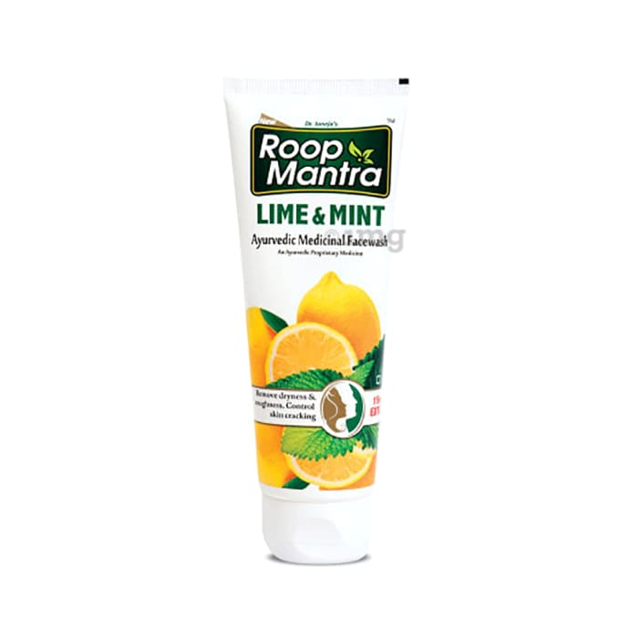 Roop Mantra  Lime & Mint Face Wash