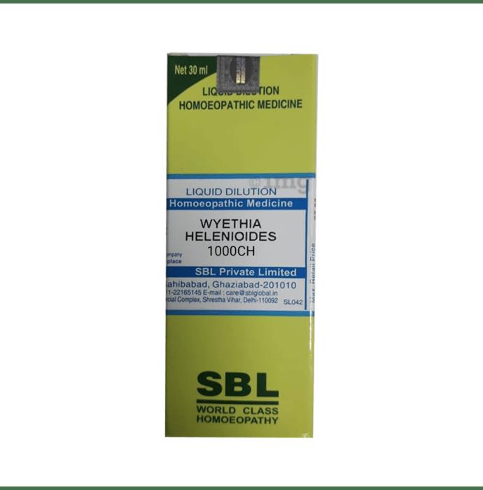 SBL Wyethia Helenioides Dilution 1000 CH