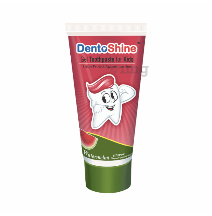 DentoShine Gel Toothpaste for Kids Watermelon