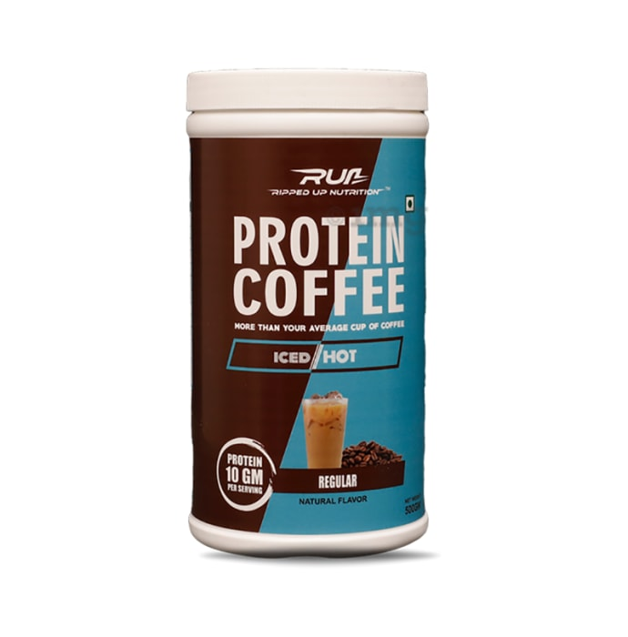 Ripped Up Nutrition Protein Coffee Regular