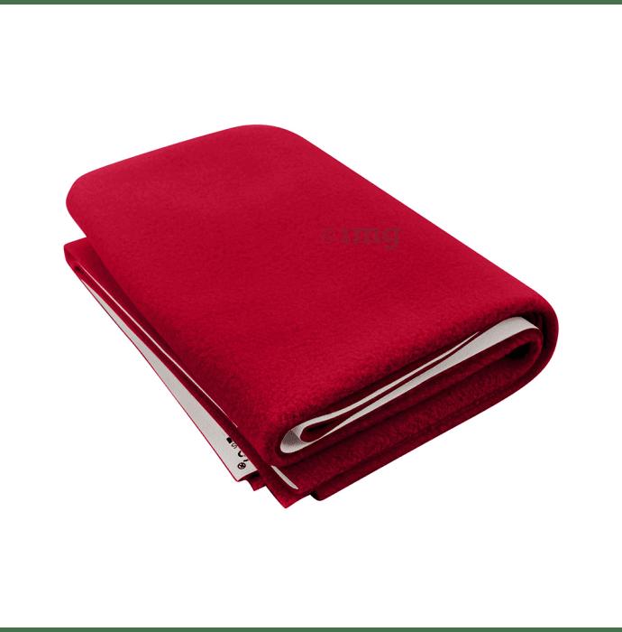 Polka Tots New Born Baby Mat Bed Protector Waterproof Sheet S Dark Red