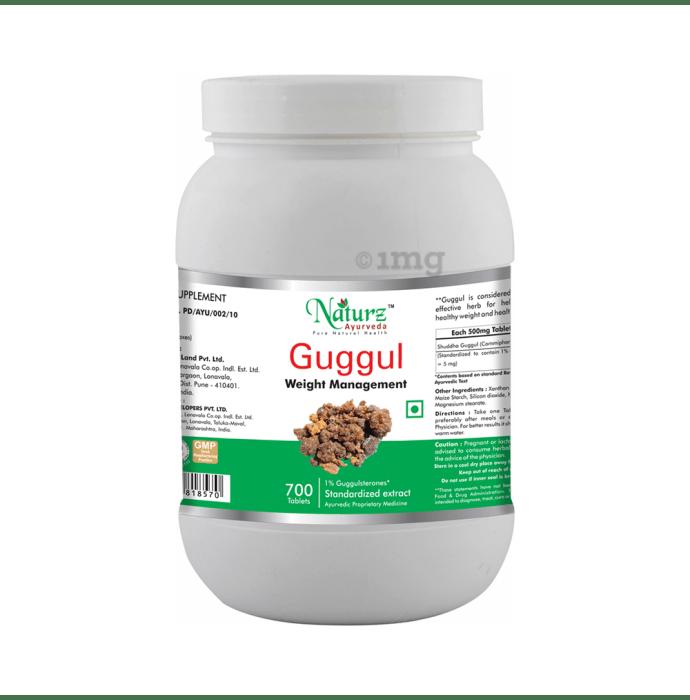 Naturz Ayurveda Guggul Tablet