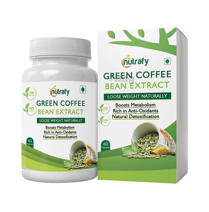 Nutrafy Green Coffee Bean Extract Capsule