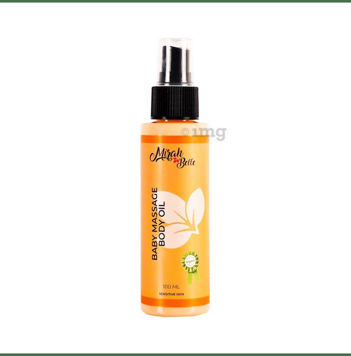 Mirah Belle Baby Massage Oil