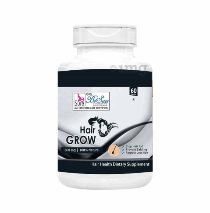 BeSure Hair Grow 800mg Capsule