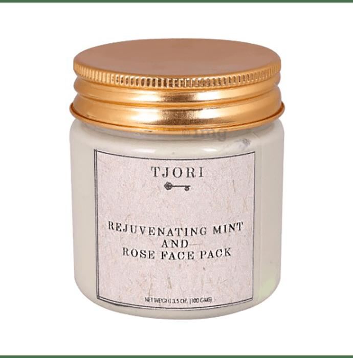 Tjori Face Pack Rejuvenating Mint and Rose