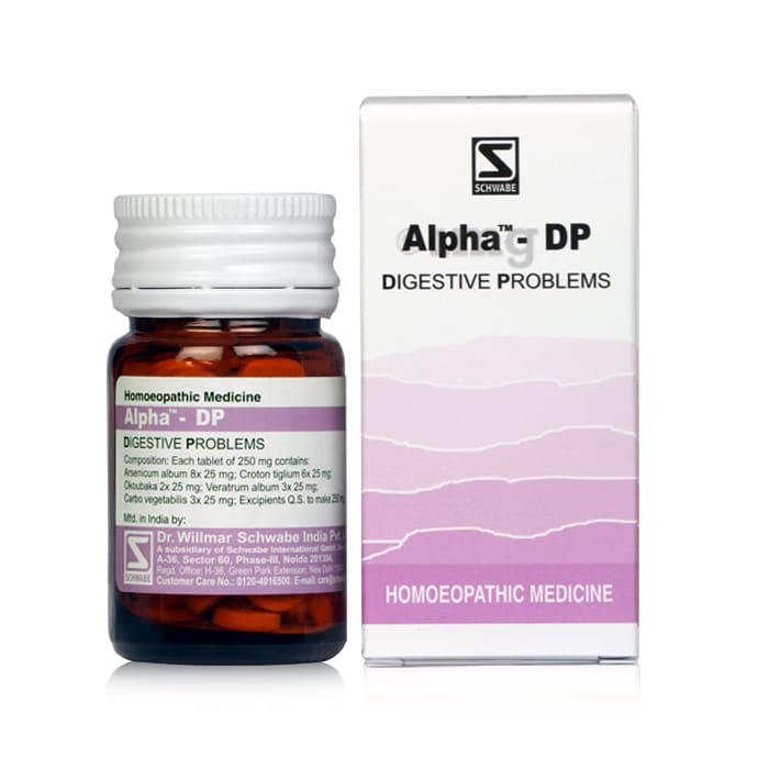 Dr Willmar Schwabe India Alpha - DP Tablet