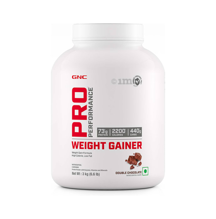 GNC Pro Performance Weight Gainer Powder Double  Chocolate