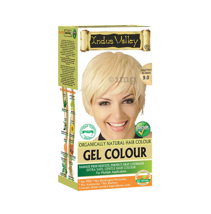 Indus Valley Organically Natural Hair Colour Gel Lightest Blonde