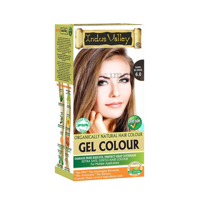 Indus Valley Organically Natural Hair Colour Gel Dark Blonde