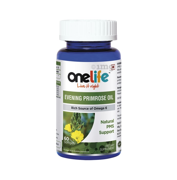 OneLife Evening Primose Oil Softgels