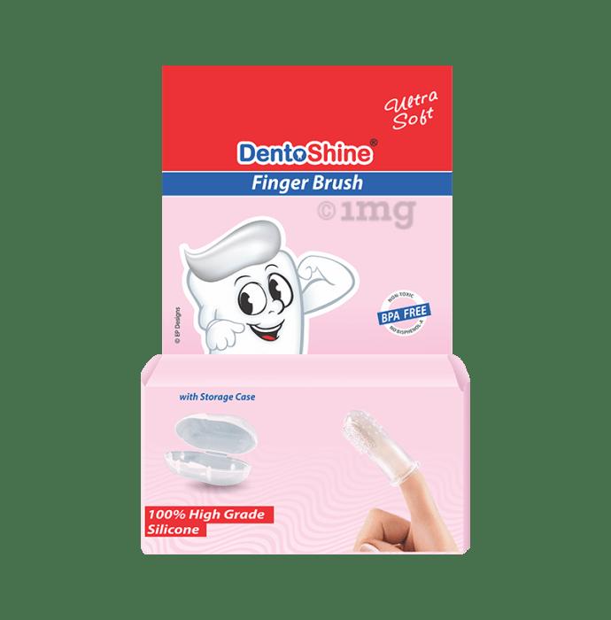 DentoShine Fingerbrush Pink