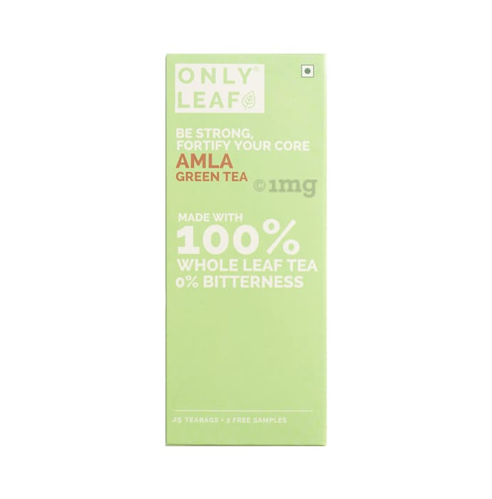 Only Leaf Green Tea Amla with 2 Free Samples