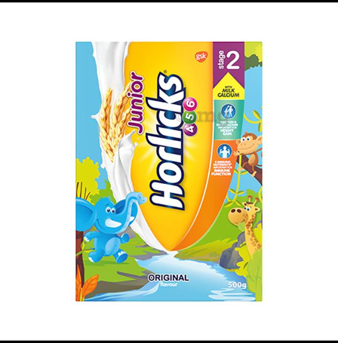 Junior Horlicks Stage 2 Health and Nutrition Drink Original Refill
