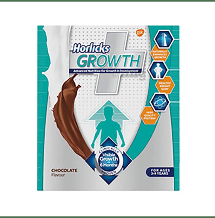 Horlicks Growth Plus Powder Refill Pack Chocolate