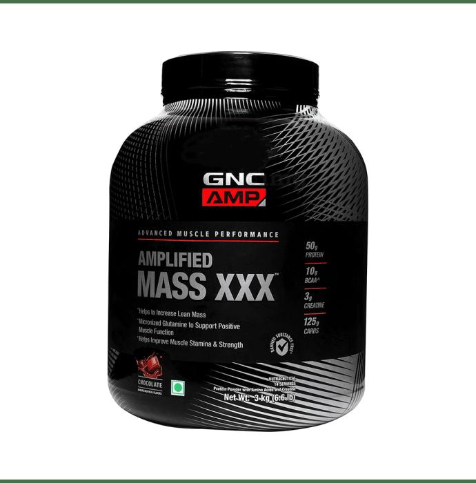 GNC Amplified Mass XXX Powder Chocolate