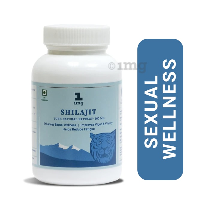 1mg Shilajit Pure Natural Extract 500mg Capsule