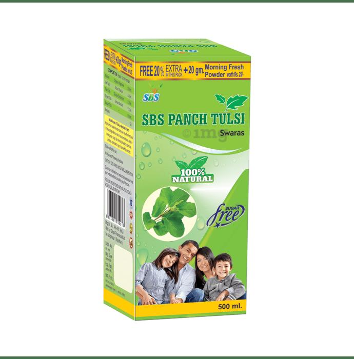 SBS Panch Tulsi Swaras Sugar Free