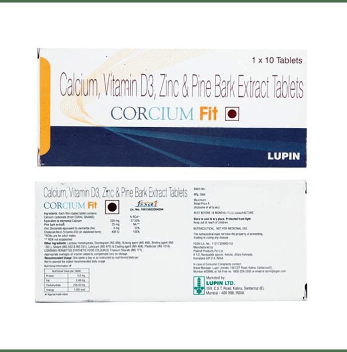 Corcium Fit Tablet
