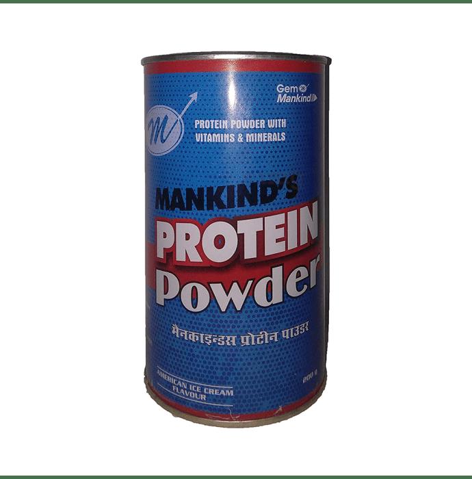 Mankind's Protein Powder American Ice Cream