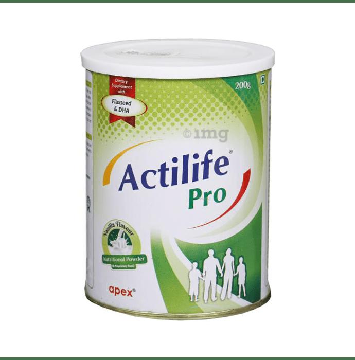 Actilife Pro Powder Vanilla