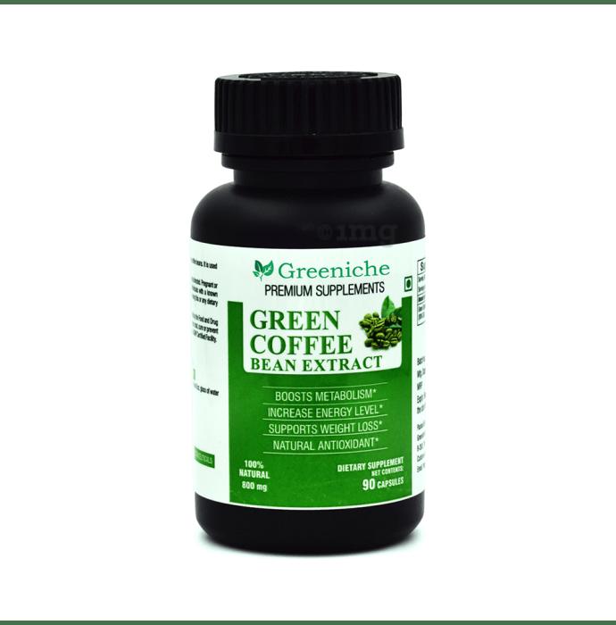 Greeniche Green Coffee Bean Extract 800mg Capsule