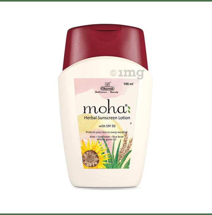 Moha Herbal Sunscreen Lotion