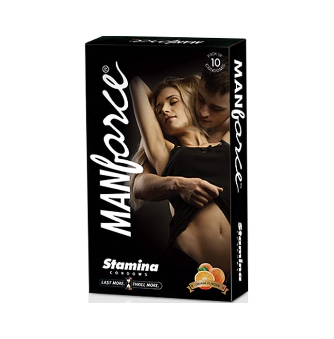 Manforce Stamina Condom Orange
