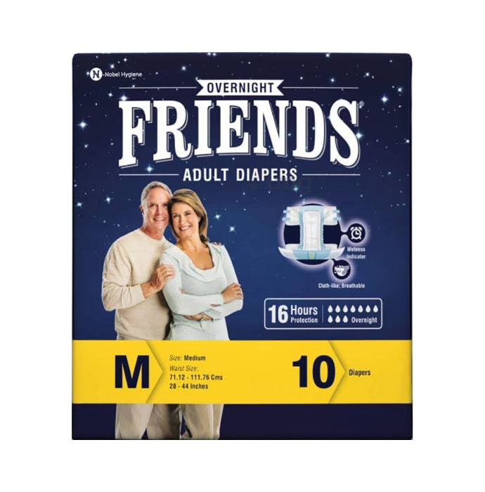 Friends Overnight Adult Diaper M
