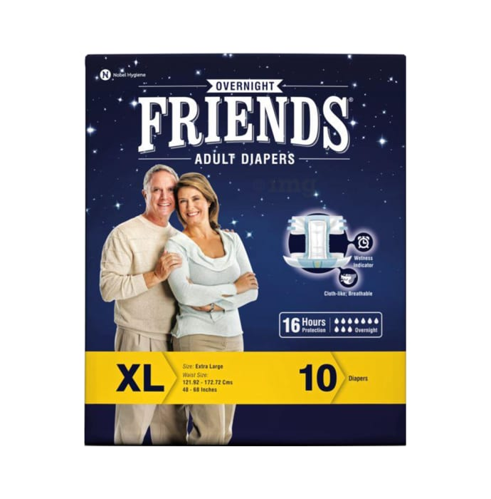 Friends Overnight Adult Diaper XL
