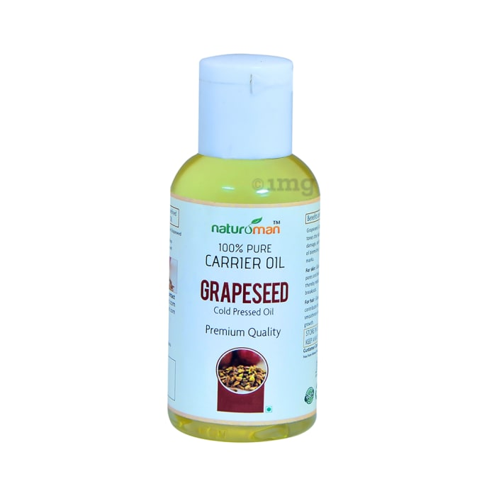 Naturoman 100% Pure Grapseed Carrier Oil
