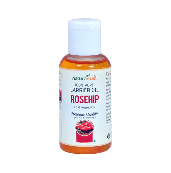 Naturoman 100%  Pure Rosehip Carrier Oil