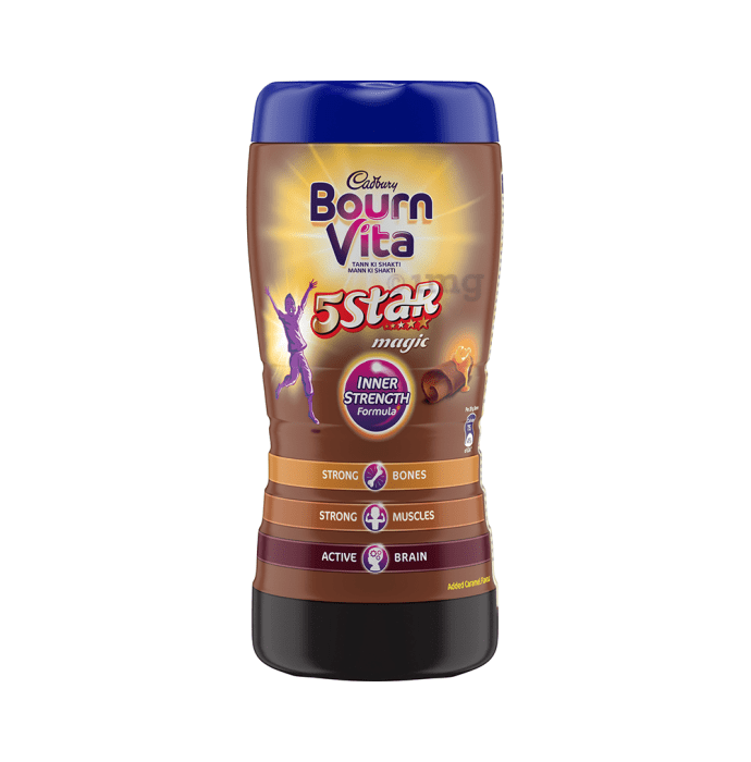 Cadbury Bournvita 5 Star Magic Chocolate Health Drink Chocolate