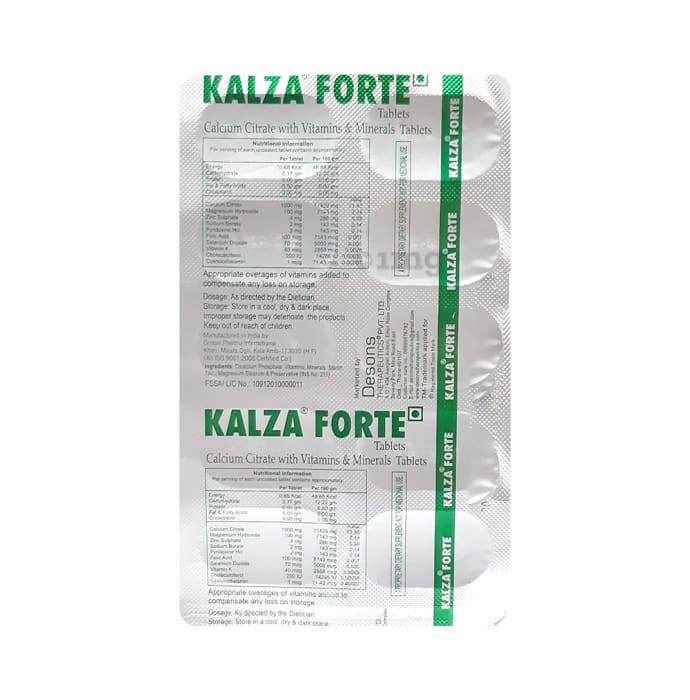 Kalza Forte Tablet