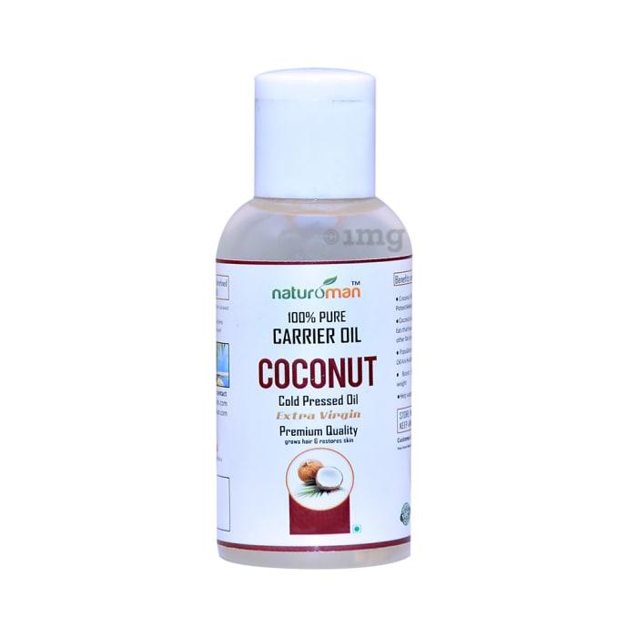 Naturoman 100% Pure Coconut Carrier Oil Extra Virgin
