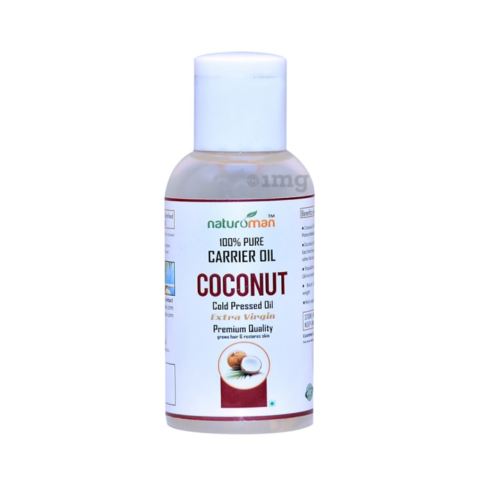 Naturoman 100% Pure Coconut Carrier Oil Extra Virgin