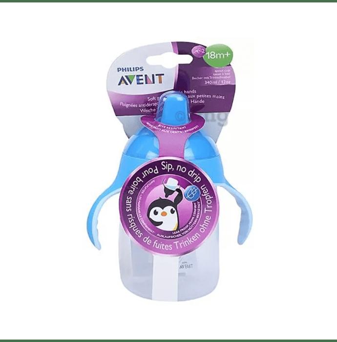 Philips Avent Premium Soft Spout Cup Blue