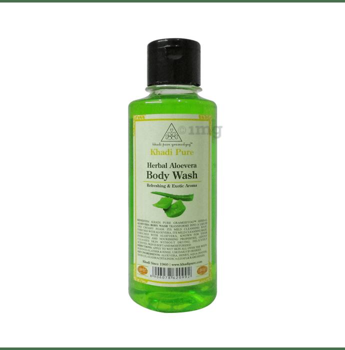 Khadi Pure Herbal Aloevera Body Wash