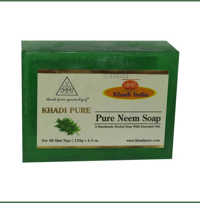 Khadi Pure Herbal Neem Soap
