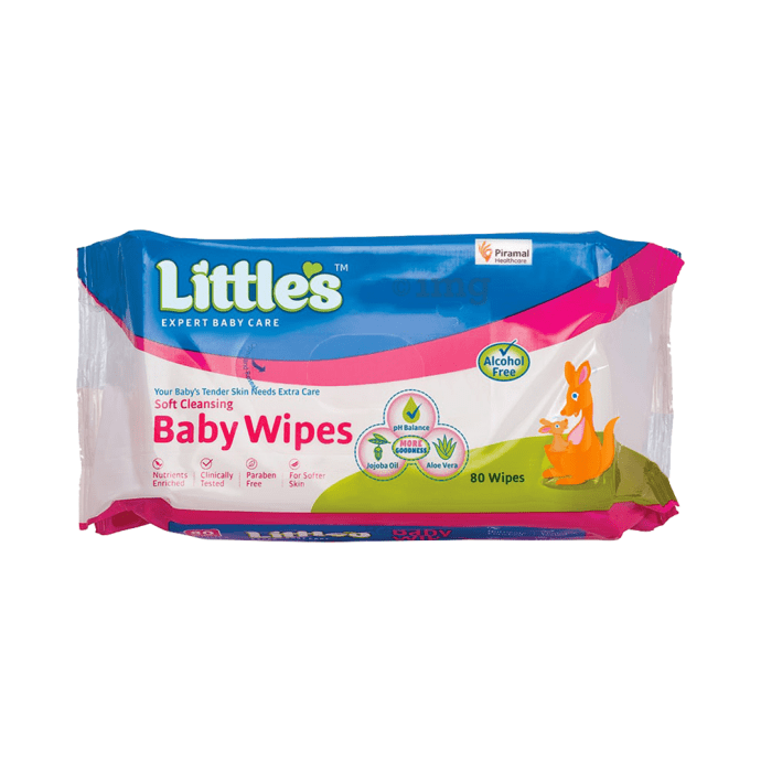 Little's Soft Cleansing Baby Wipes