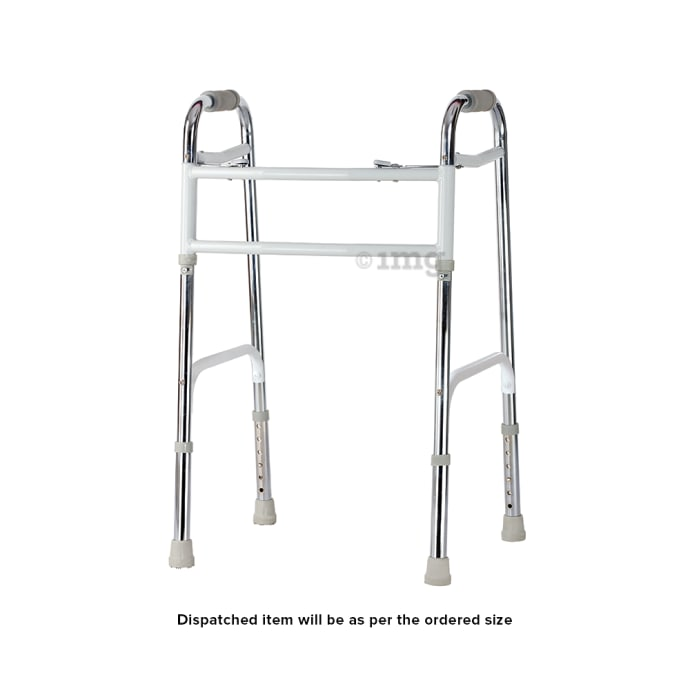 Tynor L-34 Invalid Walker with All Pods Heavy Duty Universal