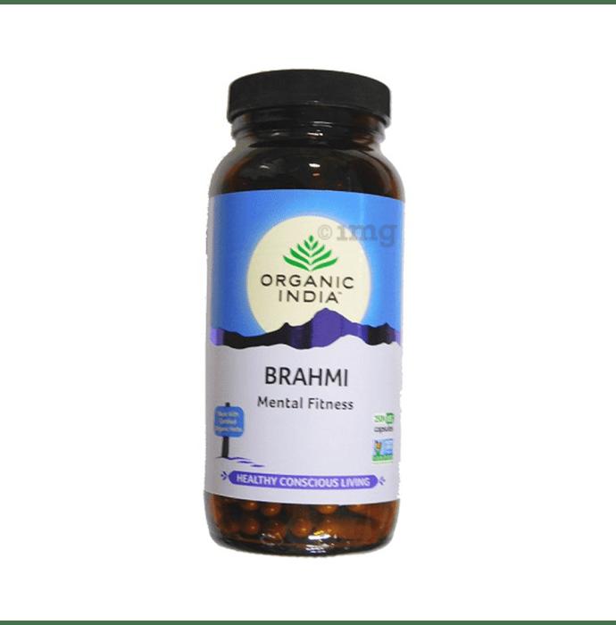 Organic India Brahmi Veg Capsule